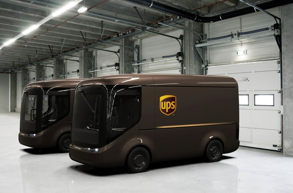 UPS Modular, Light-Weight EVs with Zero Tailpipe Emissions