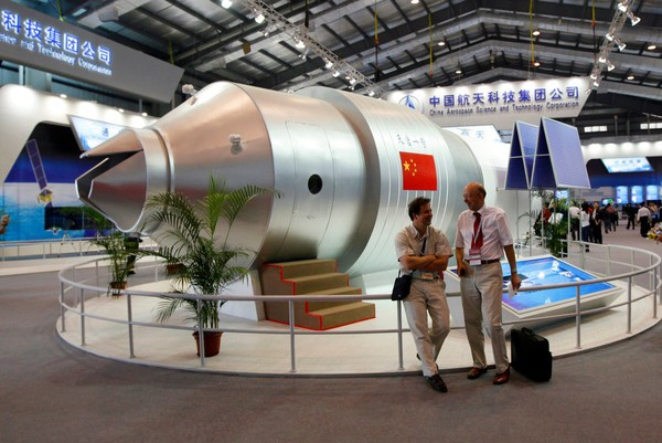 China says Tiangong-1 space station to enter Earth's atmosphere on Monday
