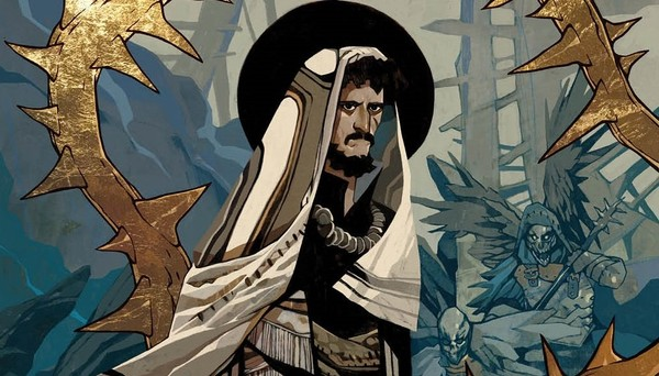 """Judas,"" a new miniseries from writer Jeff Loveness, artist Jakub Rebelka and Boom! Studios, will explore the story of Jesus' betrayal from an unlikely perspective -- that of the betrayer. The series goes on sale in December."