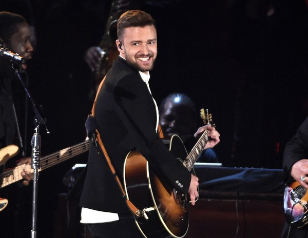 In this Nov. 4, 2015 file photo, Justin Timberlake performs at the 49th annual CMA Awards in Nashville, Tenn. (Photo by Chris Pizzello/Invision/AP, File)