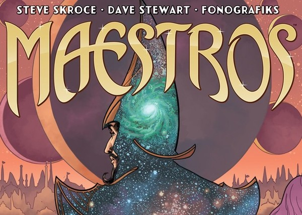 """Maestros,"" a new series about a sudden ascension to a royal, magical throne, goes on sale this week. Writer and artist Steve Skroce says he drew from many different genre inspirations while trying to create a series with a different feel to it."