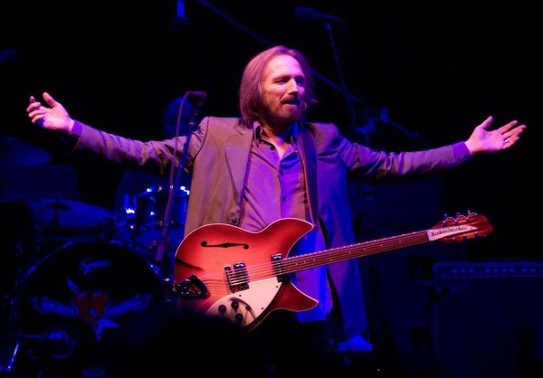 Tom Petty performs (with The Heartbreakers) at the Saratoga Performing Arts Center (SPAC) June 23, 2013.
