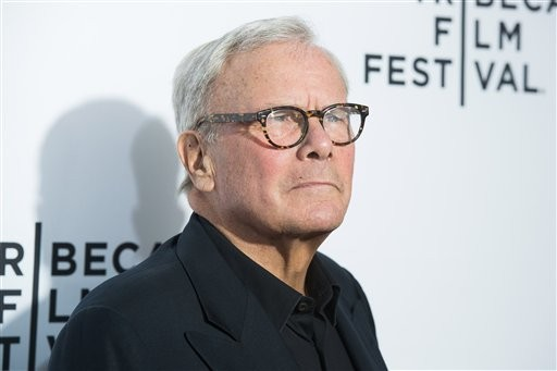 "Tom Brokaw attends the 2015 Tribeca Film Festival opening night premiere of ""Live From New York!"" at The Beacon Theatre on Wednesday, April 15, 2015, in New York."