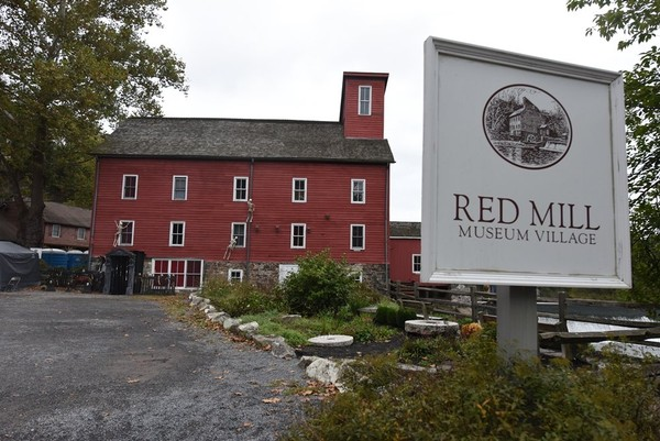 The town hopes to keep some of its historic character throughout the changes, including the 1828 Red Mill Inn. (Rich Maxwell | for NJ Advance Media)