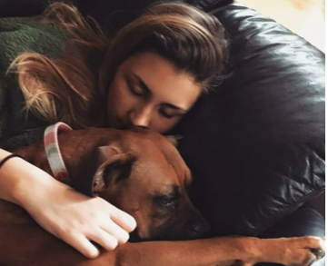 Jacqueline Heid said one of the things she most looks forward to after her surgery is being active with her dogs. (Photo Courtesy Jacqueline Heid)