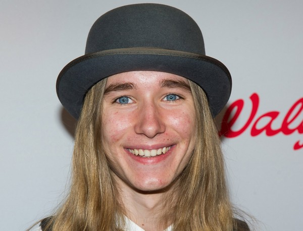Sawyer Fredericks attends NBC's Red Nose Day entertainment charity event at The Hammerstein Ballroom on Thursday, May 21, 2015, in New York.