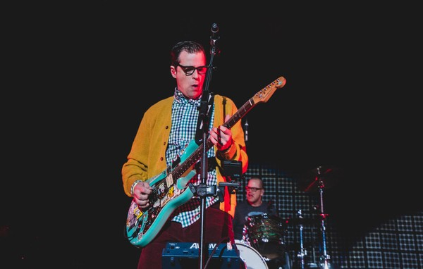 Weezer will perform with Pixies on July 15, 2018 at the Lakeview Amphitheater.