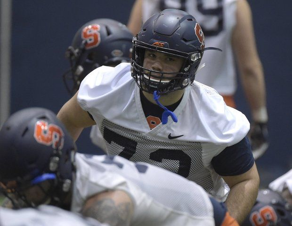 Former Syracuse football defensive tackle Steven Clark is telling the story of his return to the football field.