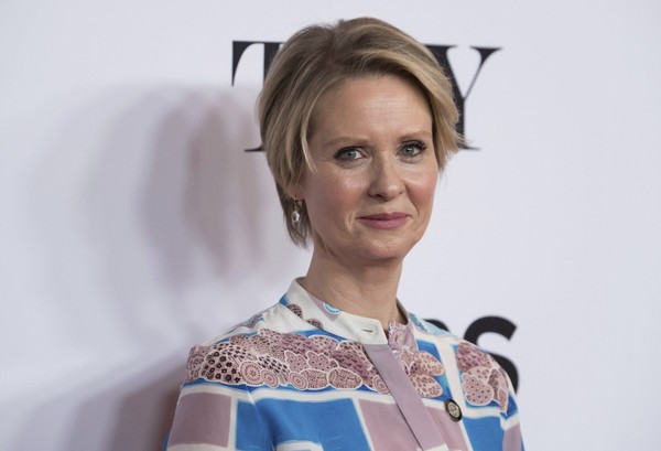 Cynthia Nixon participates in the 2017 Tony Awards Meet the Nominees press day at the Sofitel New York hotel on Wednesday, May 3, 2017, in New York.