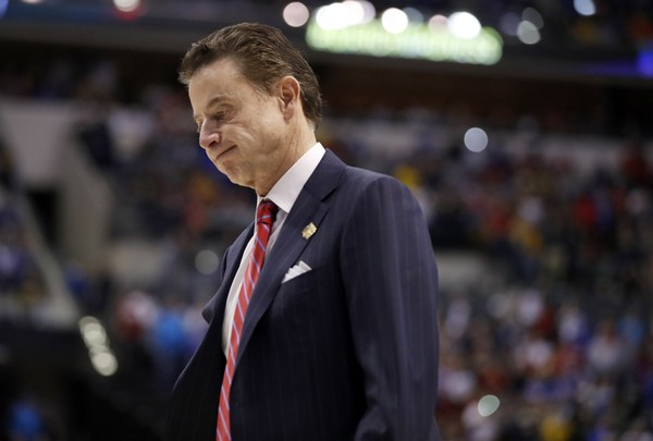 Louisville head coach Rick Pitino was reportedly fired on Wednesday.
