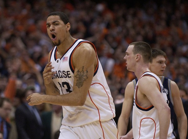 Former Syracuse player Terrence Roberts has signed with a pro team in South America.