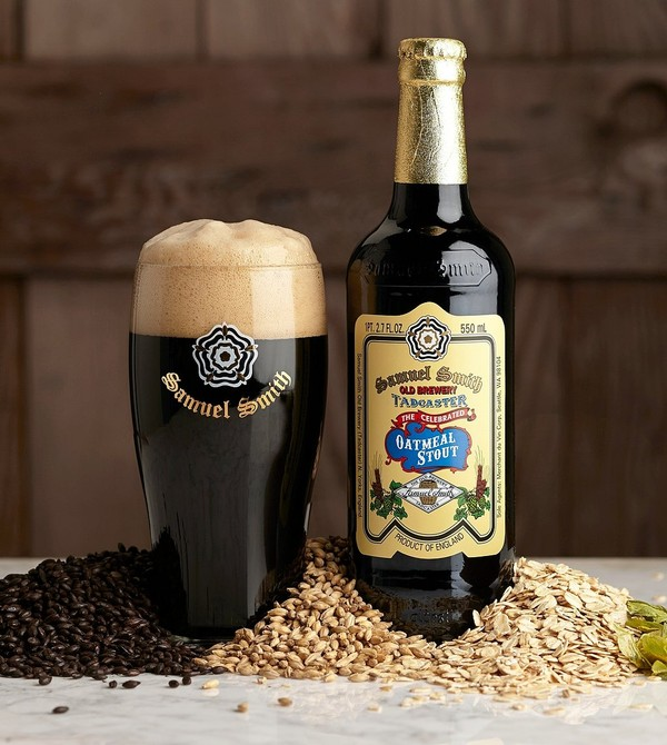 Samuel Smiths Oatmeal Stout will be sold on draft in the United States this fall as the legendary British brewery ships kegs to America for the first time.