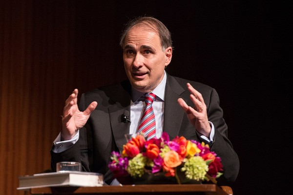 David Axelrod served as President Barack Obama's chief political strategist and senior adviser for both his 2008 and 2012 election campaigns.  (Photo by Lauren Gerson)
