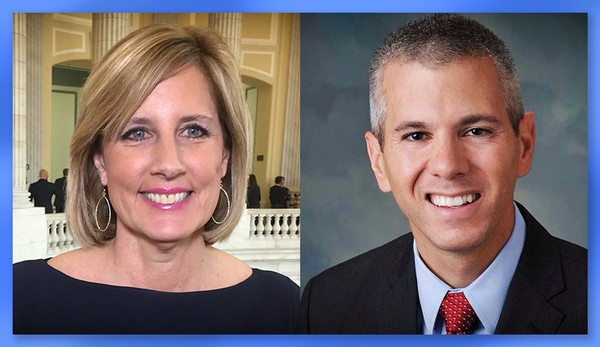 U.S. Rep. Claudia Tenney, R-New Hartford, and Democratic challenger Anthony Brindisi, a state Assembly member from Utica.