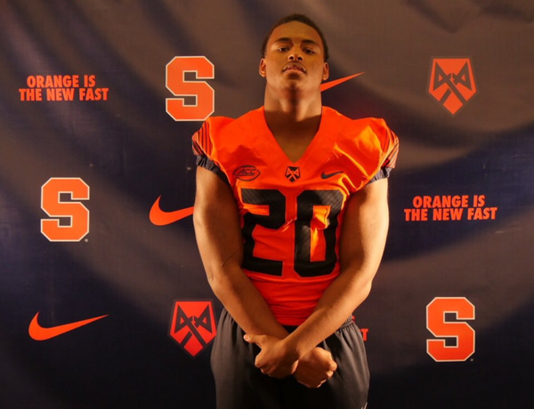 Syracuse football linebacker commit Juan Wallace picked the right weekend to take his official visit.
