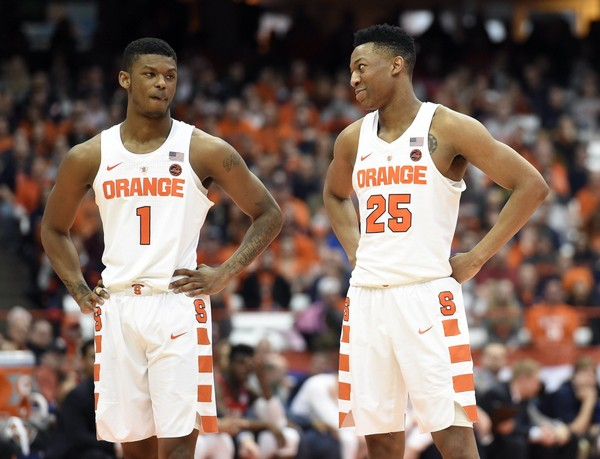 Sneak Preview Of Syracuse Basketball Players In 2017 18 Uniforms