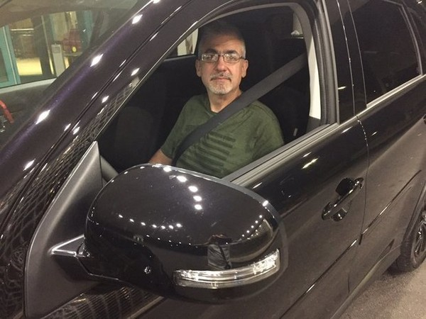 Jim Calocerinos gave his first Uber drive at 12:01 a.m. on June 29 from downtown Syracuse to Destiny USA. The eight-minute, 2.6-mile trip cost $7. ((Patrick Lohmann | Syracuse.com))