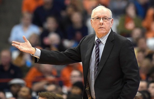 Syracuse coach Jim Boeheim said the Adidas scandal has not changed his stance on whether college athletes should be paid.