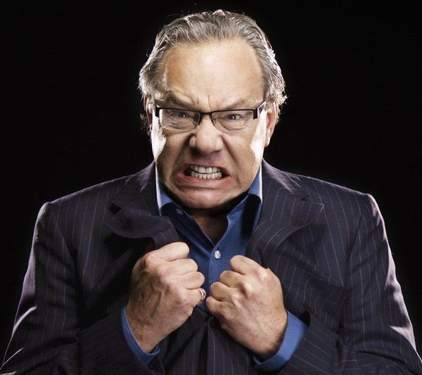 Comedian Lewis Black performs at the Broome County Forum Theatre on Feb. 23.