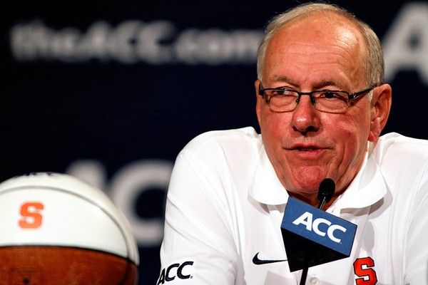 Syracuse coach Jim Boeheim will be in Charlotte for ACC media day on Wednesday.