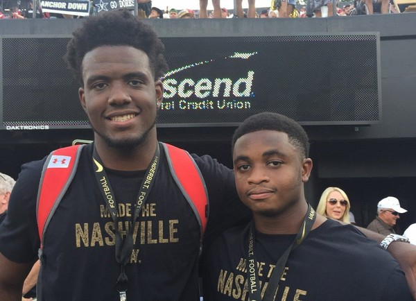 Class of 2018 Georgia defensive lineman Nick Fulwider (left) has a visit to Syracuse tentatively set for Nov. 24 or 25.