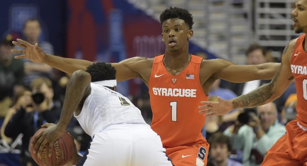 Syracuse coach Jim Boeheim has talked about playing more man-to-man defense this season, but junior guard Frank Howard, who stands 6-foot-5, seems perfect for the zone.
