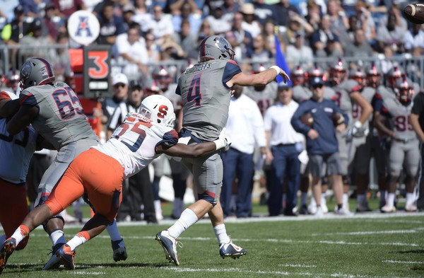 Syracuse sophomore defensive end Kendall Coleman is expected to return from injury at Florida State on Saturday.