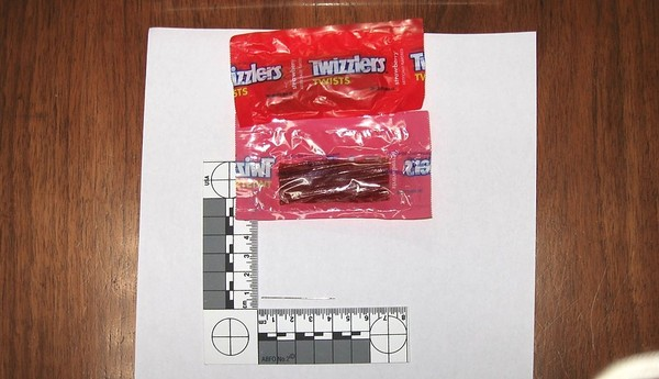 The Village of Vernon Police Department warned residents on Nov. 2, 2017. to check their Halloween candy after two people reportedly found sewing needles inside packaging or inside children's candy bags.(Village of Vernon Police)