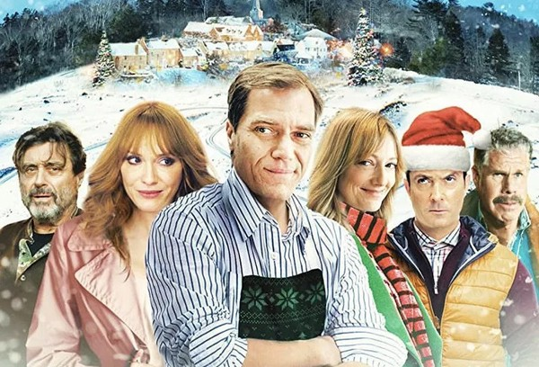 """Pottersville"" stars, from left to right, Ian McShane, Christina Hendricks, Michael Shannon, Judy Greer, Thomas Lennon and Ron Perlman."
