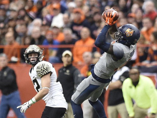 Syracuse and wide receiver Ervin Philips have a difficult path left to bowl eligibility.