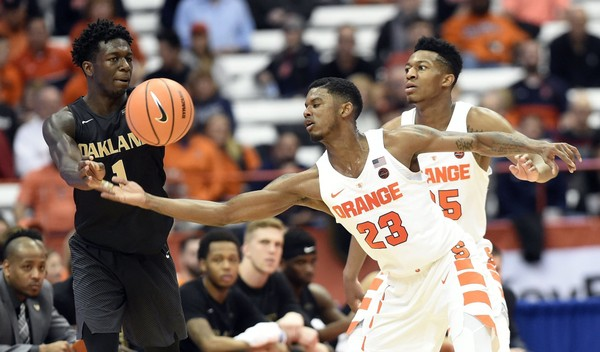 With last year in rear-view, optimism surrounds Syracuse point guard Frank Howard | syracuse.com