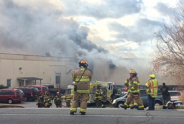 NY factory fire and explosions injure 40, including seven firefighters