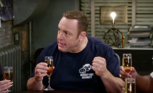 Kevin James appears in a scene from the CBS show