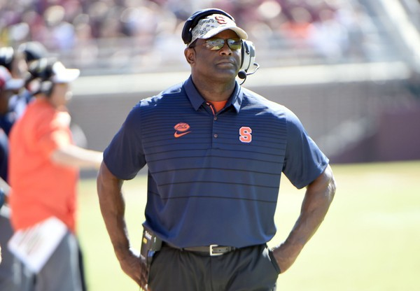 Syracuse head coach Dino Babers continues to look for an edge rusher to join his Class of 2018.