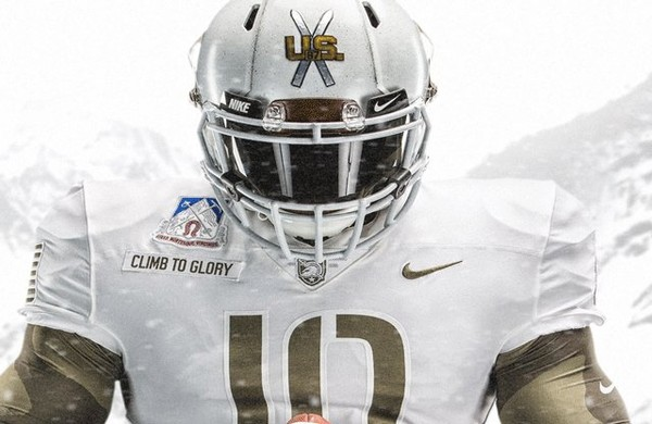 Army will be wearing a new uniform honoring the 10th Mountain Division when it plays Navy this weekend in its big rivalry game.