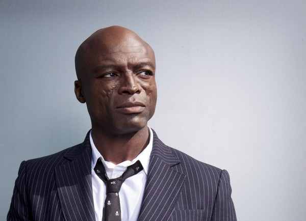 "In this Oct 18, 2017 photo, Grammy Award-winning singer Seal poses for a portrait to promote his new album ""Standards"" at the London Hotel in West Hollywood, Calif."