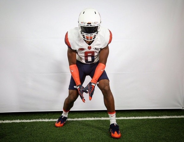 Class of 2018 defensive back Andre Cisco committed to Syracuse on Friday night.