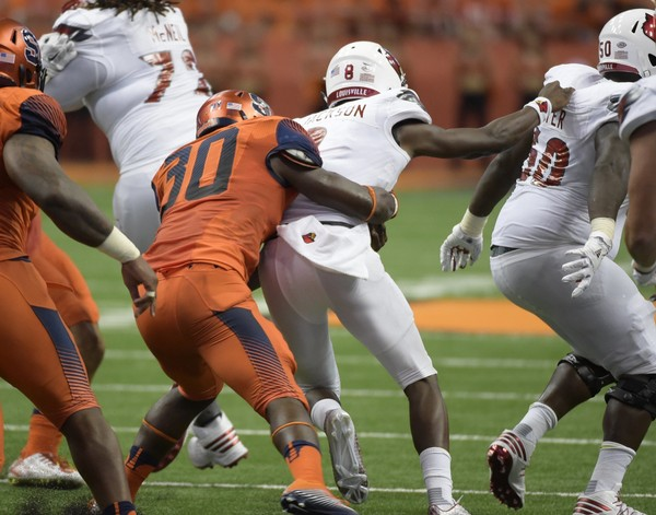 Syracuse football linebacker Parris Bennett will play in the East-West Shrine Game, one of college football's premier all-star games for seniors.(Stephen D. Cannerelli | scannerelli@syracuse.com)