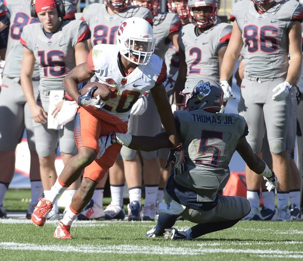 """Former Syracuse cornerback Cordell Hudson visited Middle Tennessee State and is """"ready"""" to join Scott Shafer there, he announced on Monday.(Stephen D. Cannerelli   scannerelli@syracuse.com)"""