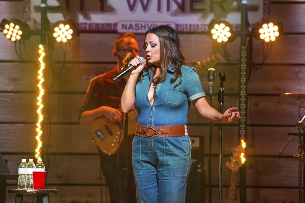 """Sara Evans performs during the """"Words"""" album preview at City Winery Nashville on Wednesday, June 7, 2017, in Nashville, Tenn."""