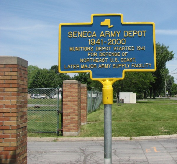 A large incinerator has been proposed for part of the former Seneca Army Depot, closed in 2000.