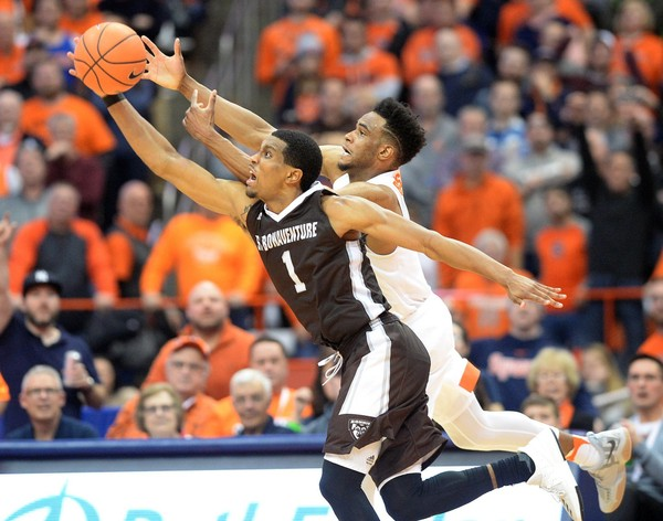 Bonaventure outlasts Syracuse in overtime 60-57