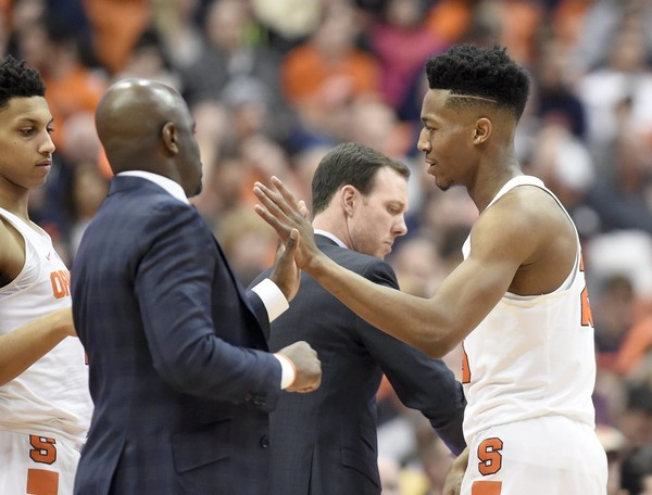 Syracuse guard Tyus Battle broke out of a mini-slump with 16 second-half points against Eastern Michigan.