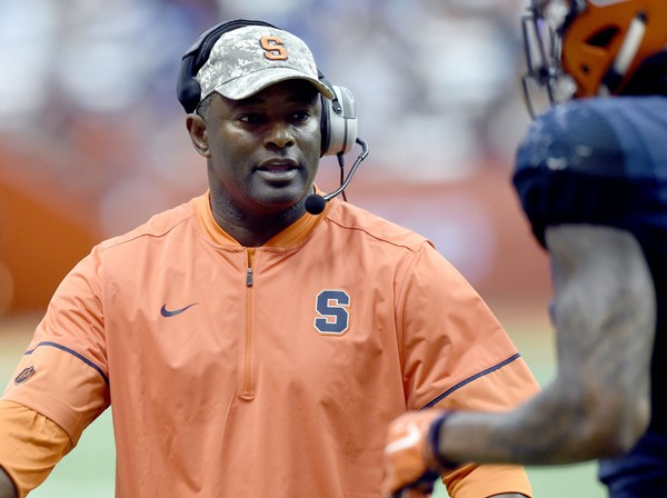 Syracuse football coach Dino Babers will be part of ESPN's College Football Playoff broadcasts for the second consecutive year.