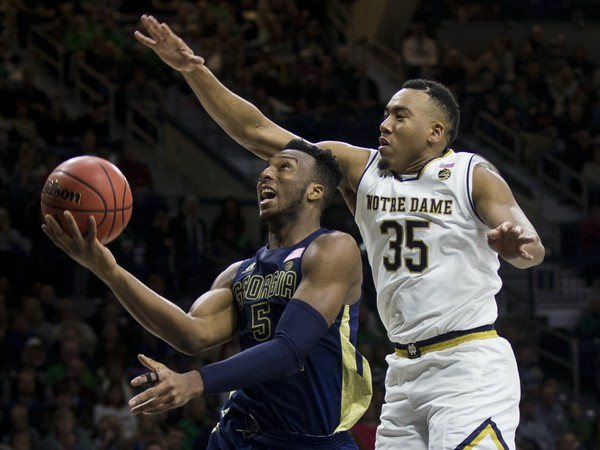 Notre Dame star Bonzie Colson will miss eight weeks with a fractured foot.