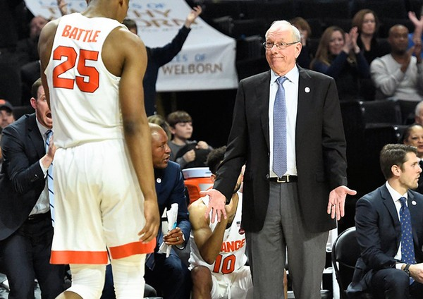 Wake Forest holds off Syracuse, 73-67 — COLLEGE BASKETBALL