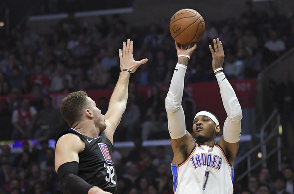 Thunder Big 3 Stays Hot, Beats Clippers 127-117