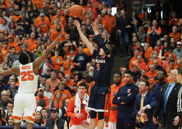 Syracuse Orange vs. Virginia Cavaliers Preview 01/09/18