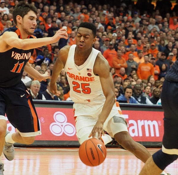 No. 3 Virginia Set To Clash With Syracuse Tuesday