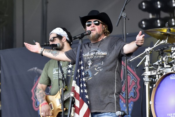 Colt Ford performs at Naperville's Ribfest at Knoch Park on Friday, June 30, 2017, in Naperville, IL.